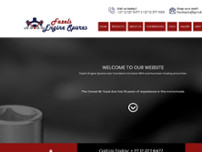 Fazel's Engine Spares CC website screenshot